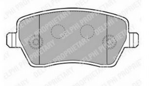 BRAKE PADS FRONT RENAULT TWINGO 2007 2008 2009 2010 2011 2012 2013 2014 2015 TRW GIRLING TYPE (1135)